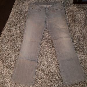 Gray 7 bootcut jeans